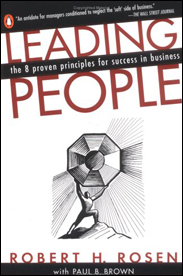"""Leading People is an impressive publication that provides the reader with the opportunity to learn from the personal principles and operating philosophies of some of America's most successful personalities."" – Stanley C. Gault"