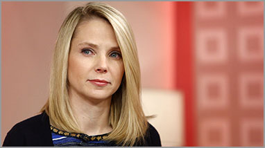 Marissa Mayer on NBC's Today show