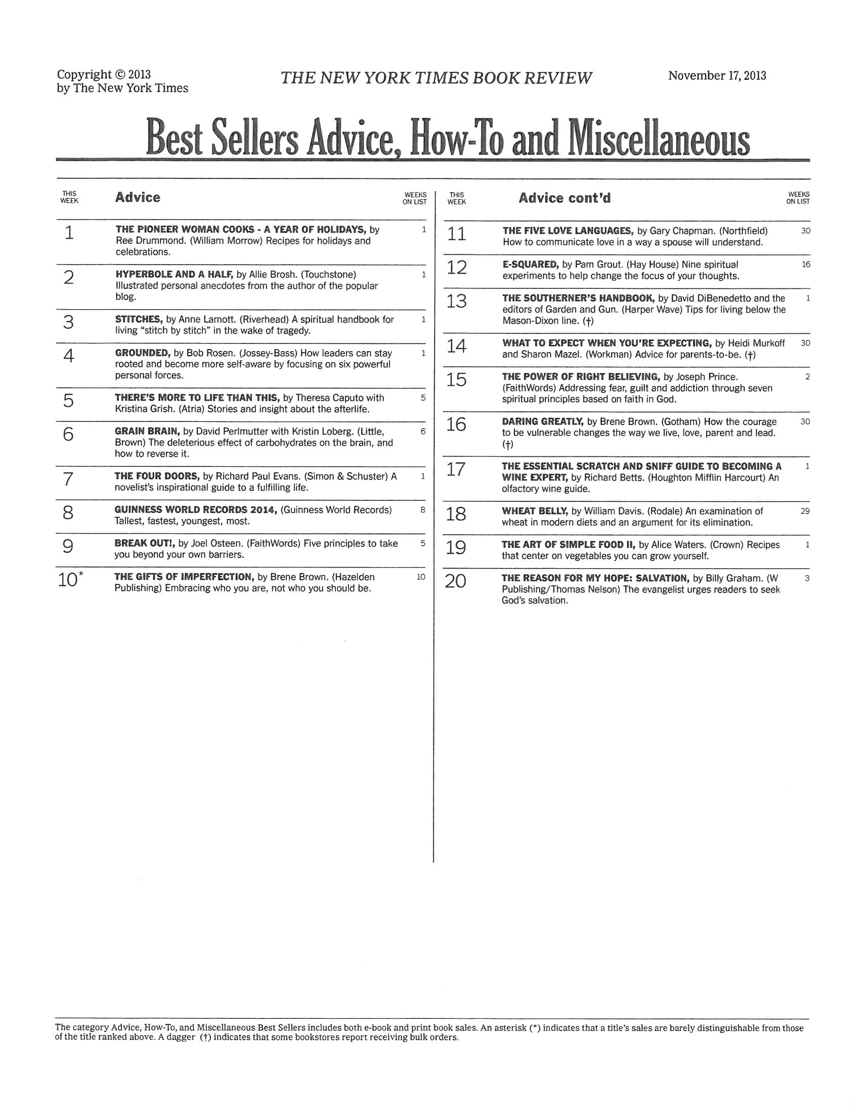 New book grounded makes new york times best seller list healthy