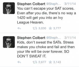 Stephen Colbert Tweets