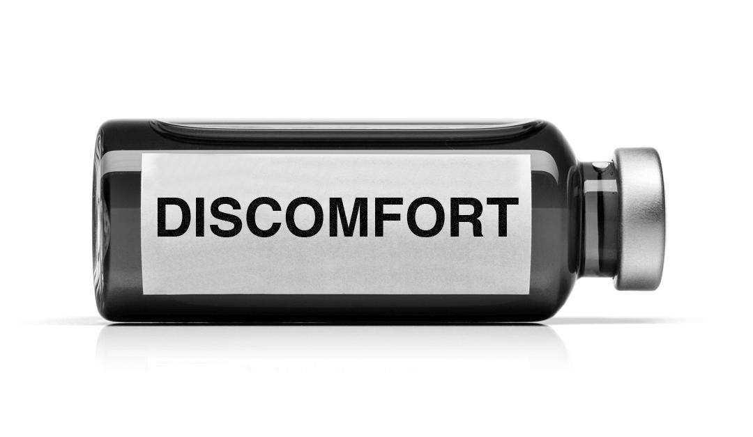 Discomfort is the New Immunization
